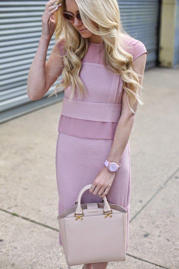 мода весна лето 2015 лавандовый 3