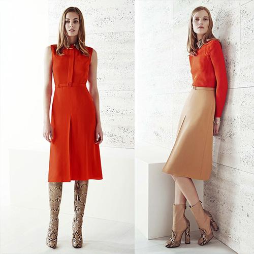мода весна лето 2015 мандарин 2