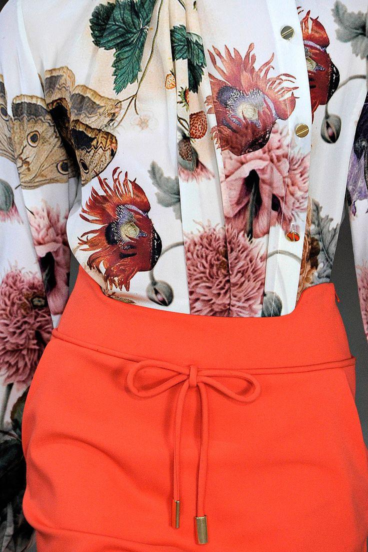 мода весна лето 2015 мандарин 4