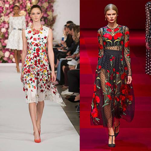 мода весна лето 2015 принты 3