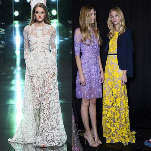 мода весна лето 2015  прозрачные юбки 1