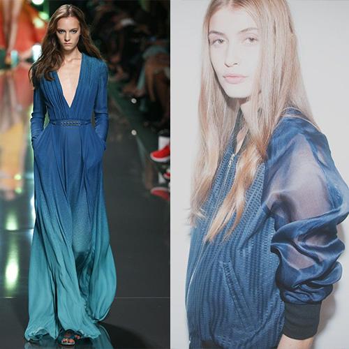 мода весна лето 2015 синие сумерки 1