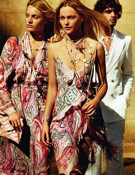 мода весна лето 2015  цыганский стиль 2