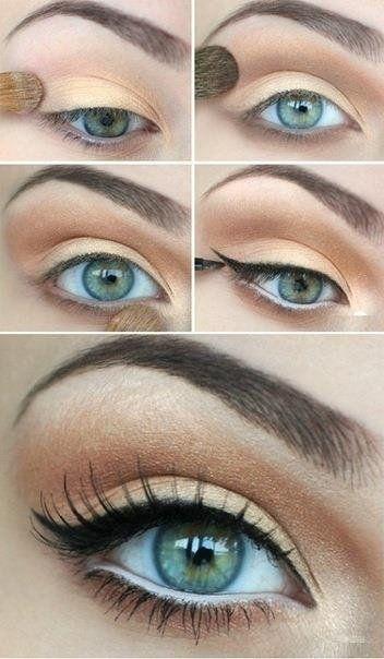 макияж для зеленых глаз 02