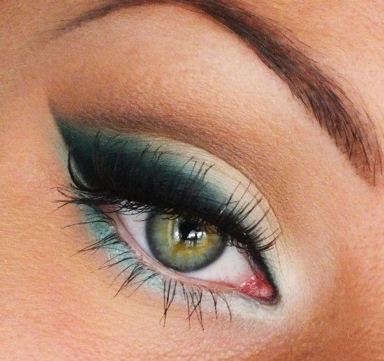 макияж для зеленых глаз 03