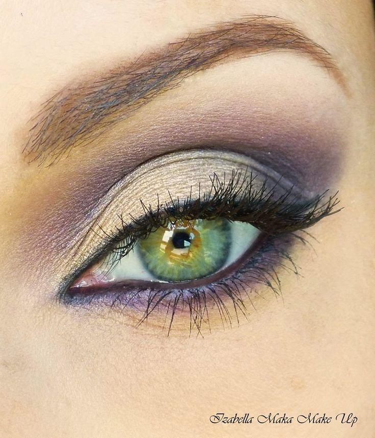 макияж для зеленых глаз 04