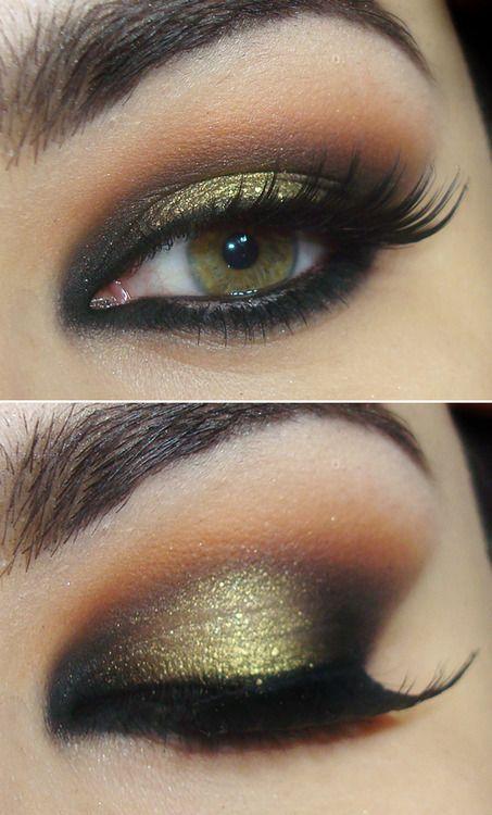 макияж для зеленых глаз 05