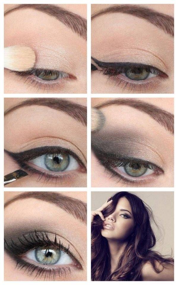 макияж для зеленых глаз 07