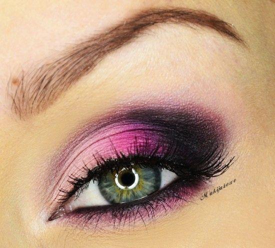 макияж для зеленых глаз 08