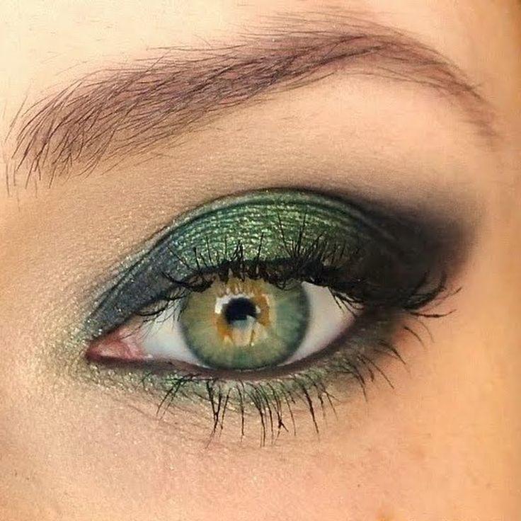 макияж для зеленых глаз 09