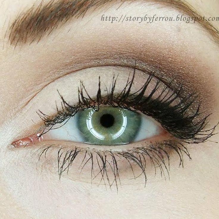 макияж для зеленых глаз 11