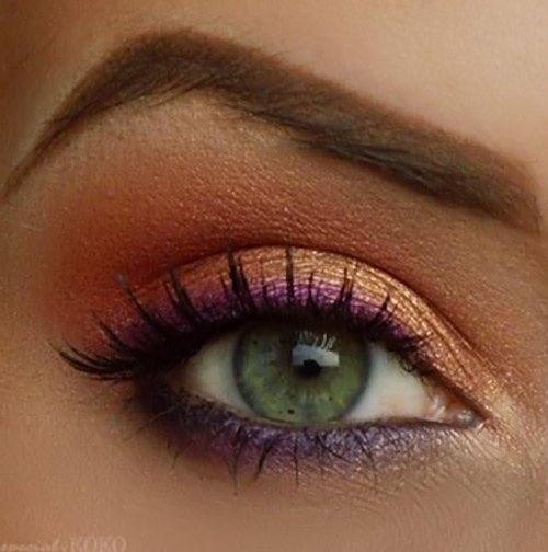 макияж для зеленых глаз 12