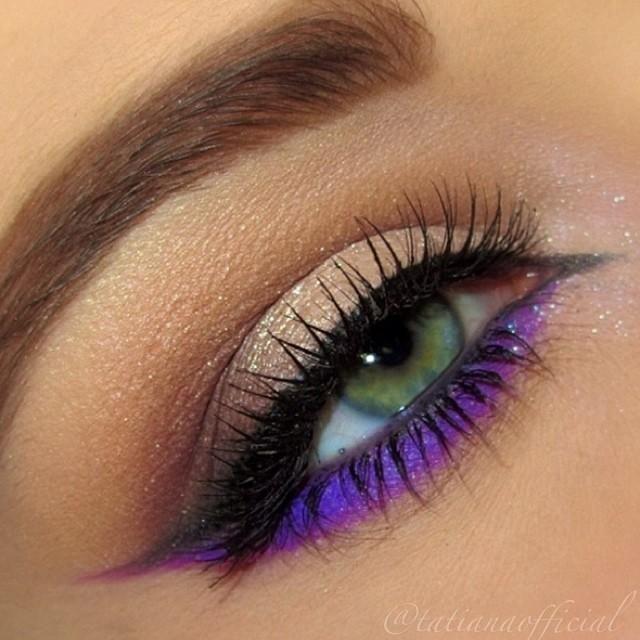 макияж для зеленых глаз 25
