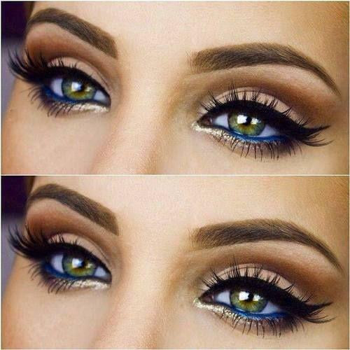 макияж для зеленых глаз 28