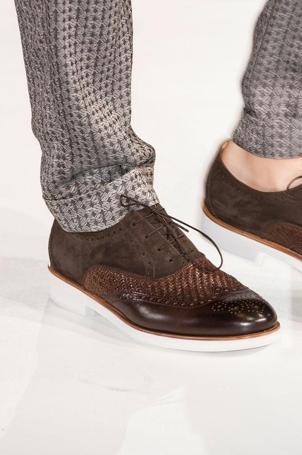 Giorgio Armani Men's Details S/S '15 Found on fashionising.com