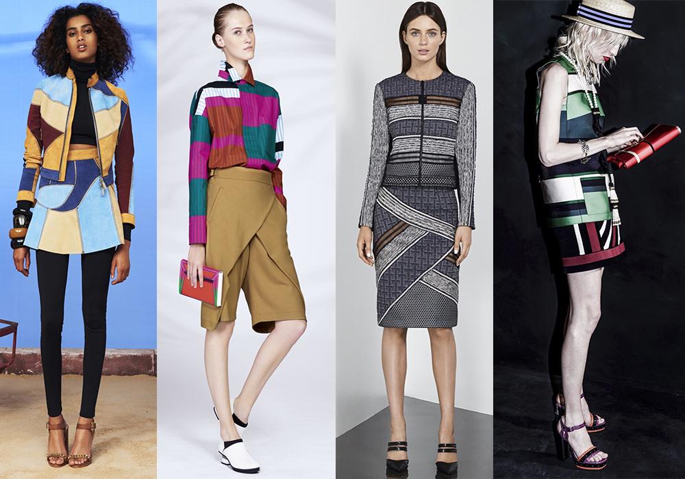 мода тренды весна лето 2016