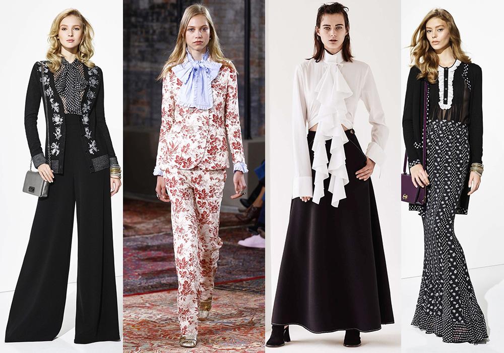 викторианский стиль 2016 мода тренды весна