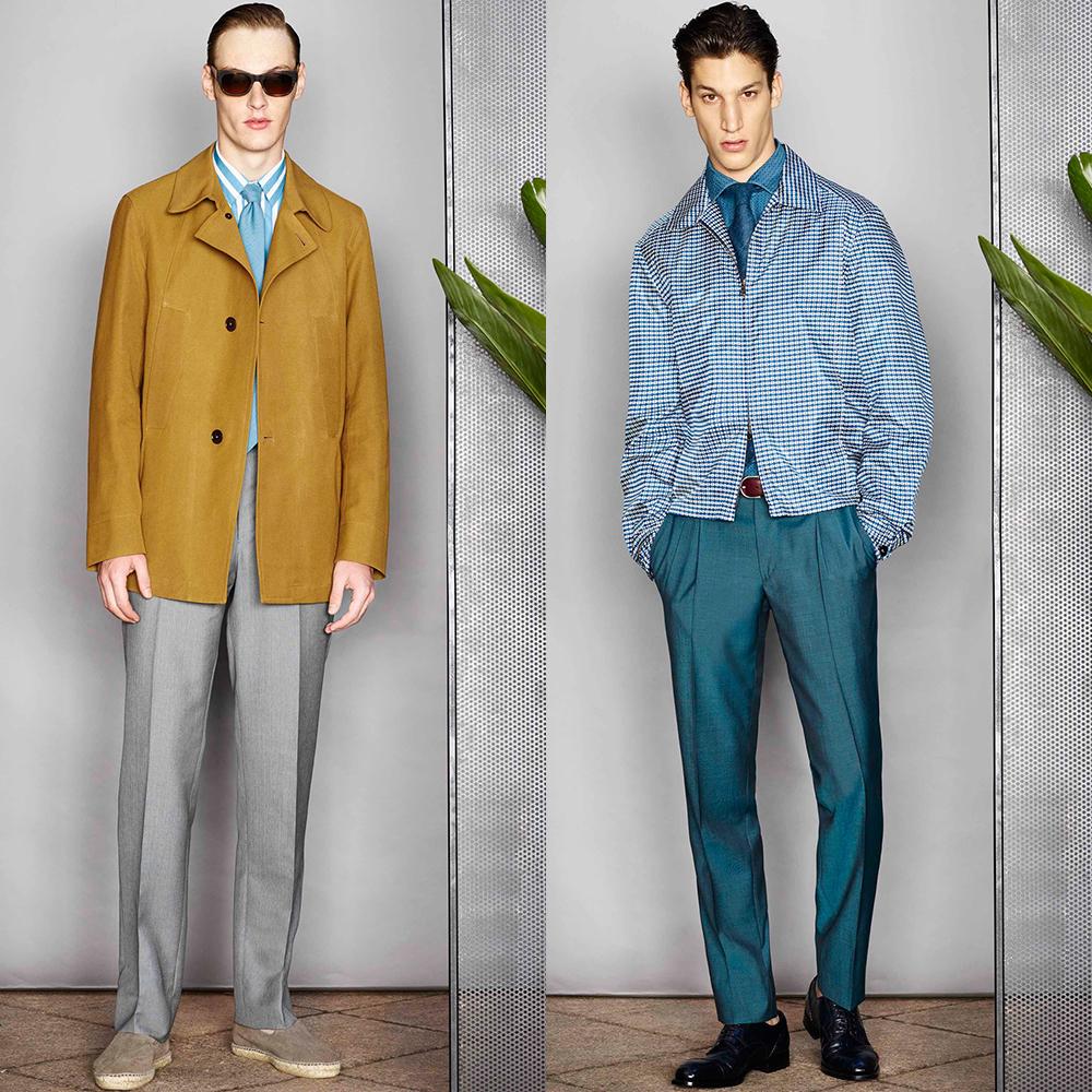 мужская мода 2016 весна лето 50-е