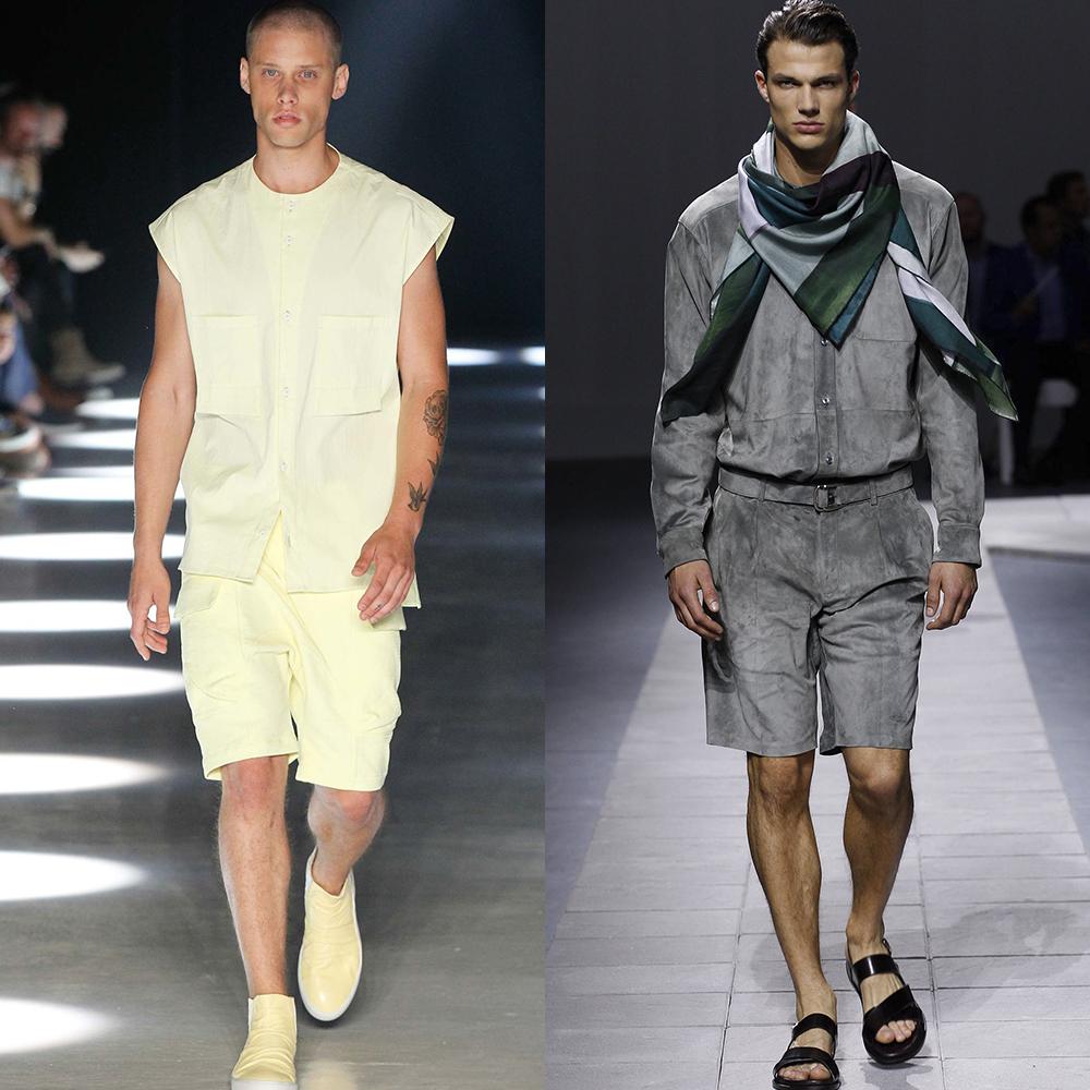 мужская мода шорты 2016