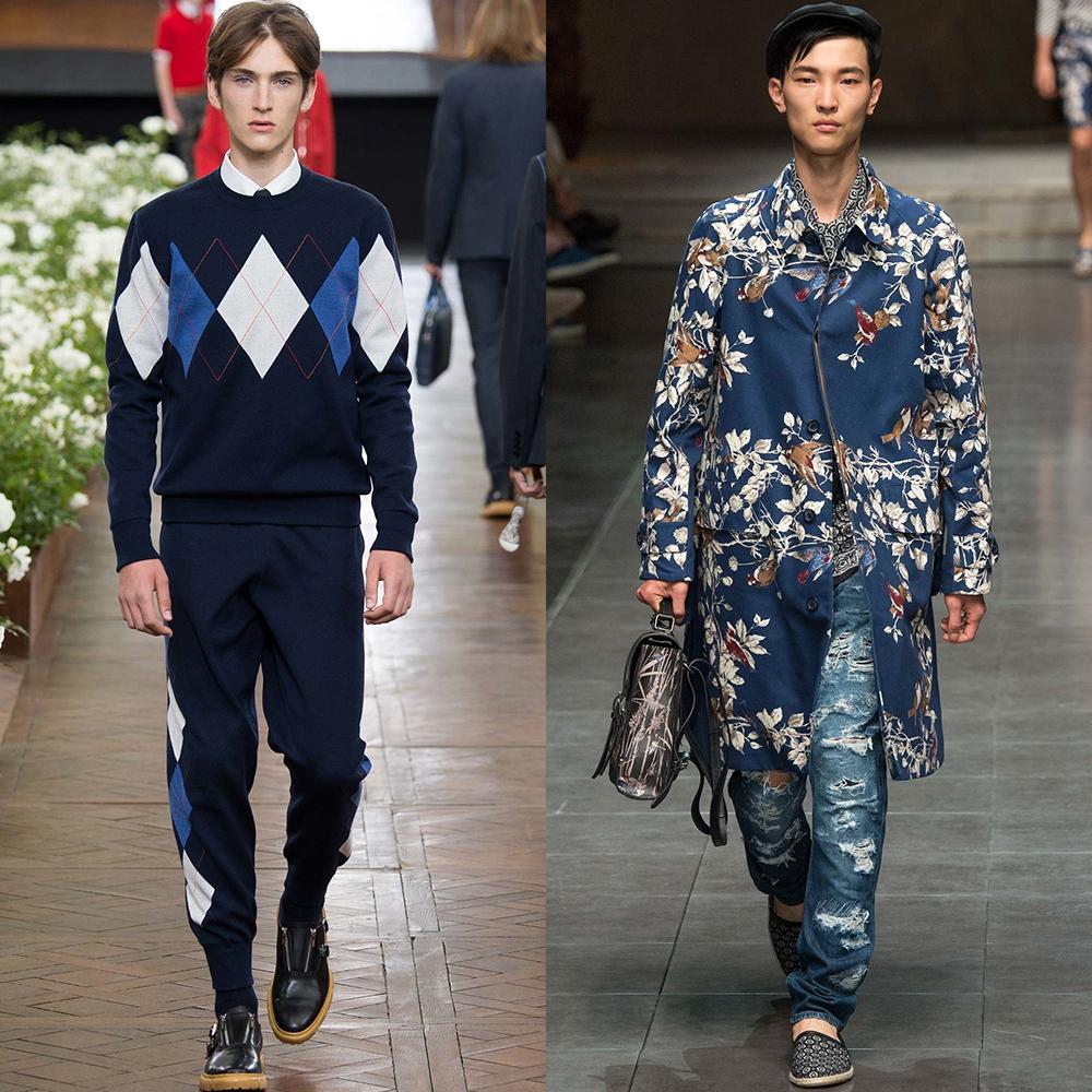 модные цвета мужчины весна лето 2016
