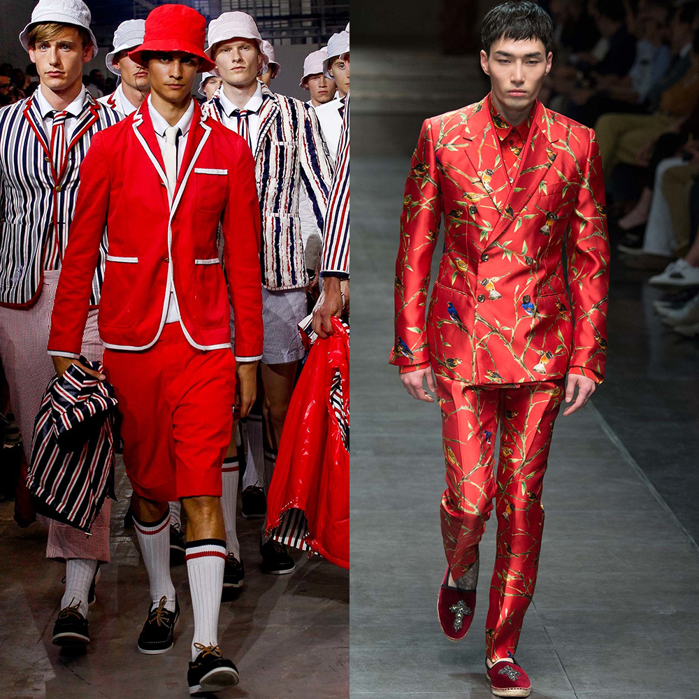 модные оттенки для мужчин 2016