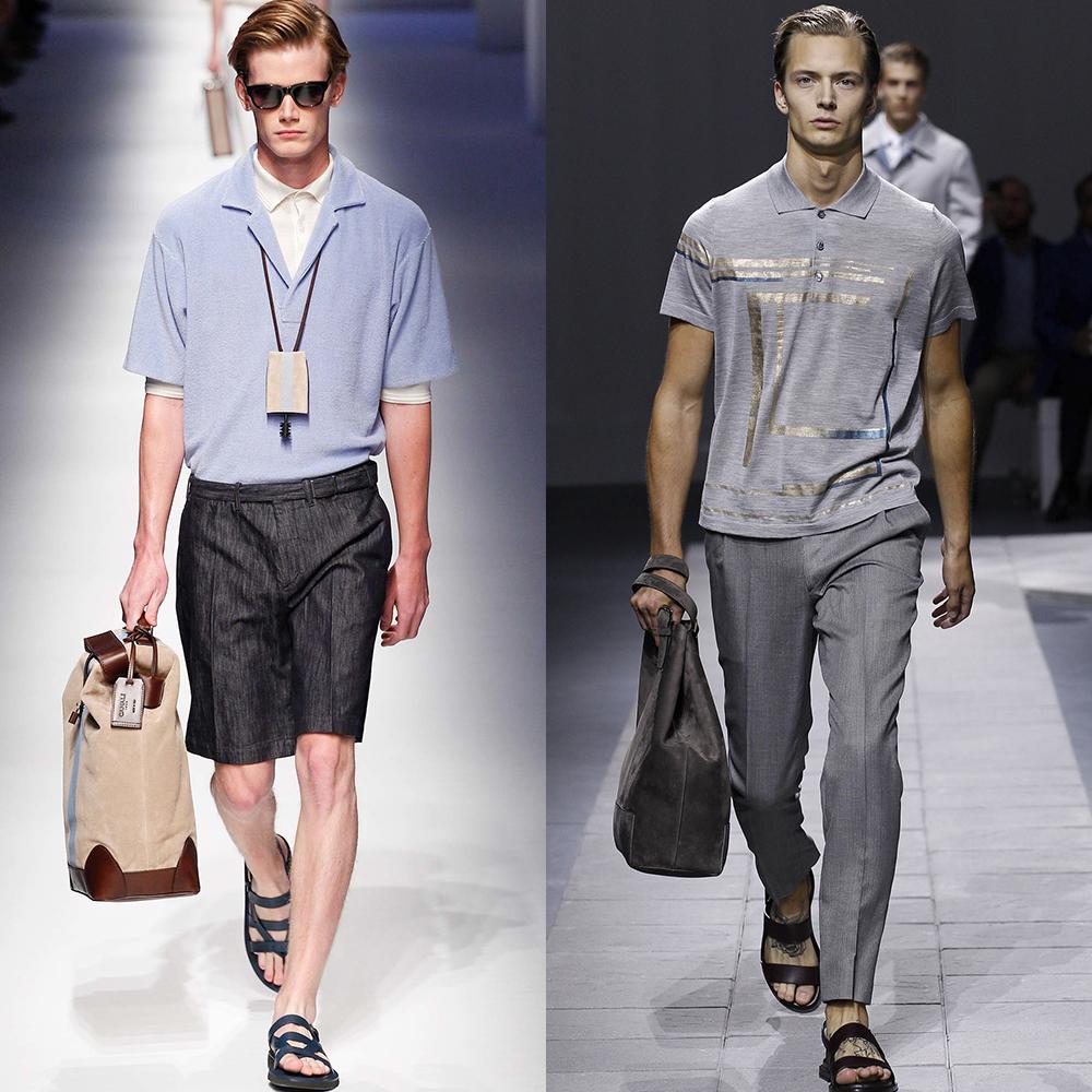 мужская мода весна лето