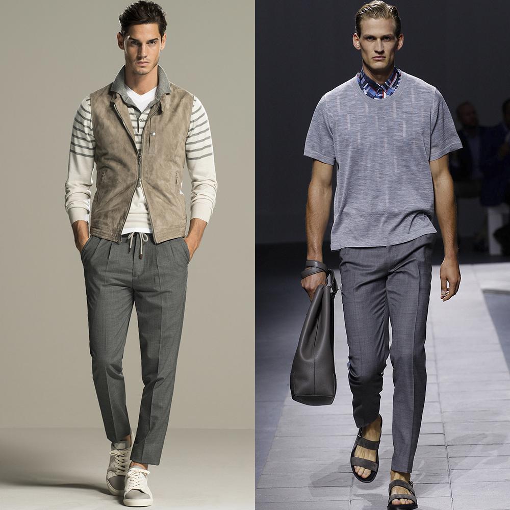 мужская моде весна лето 2016