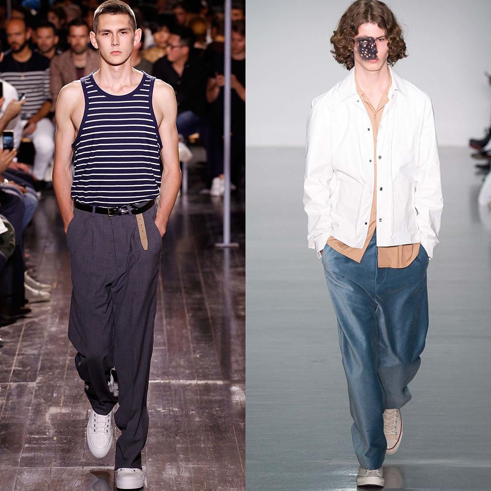 мужская мода штаны 2016