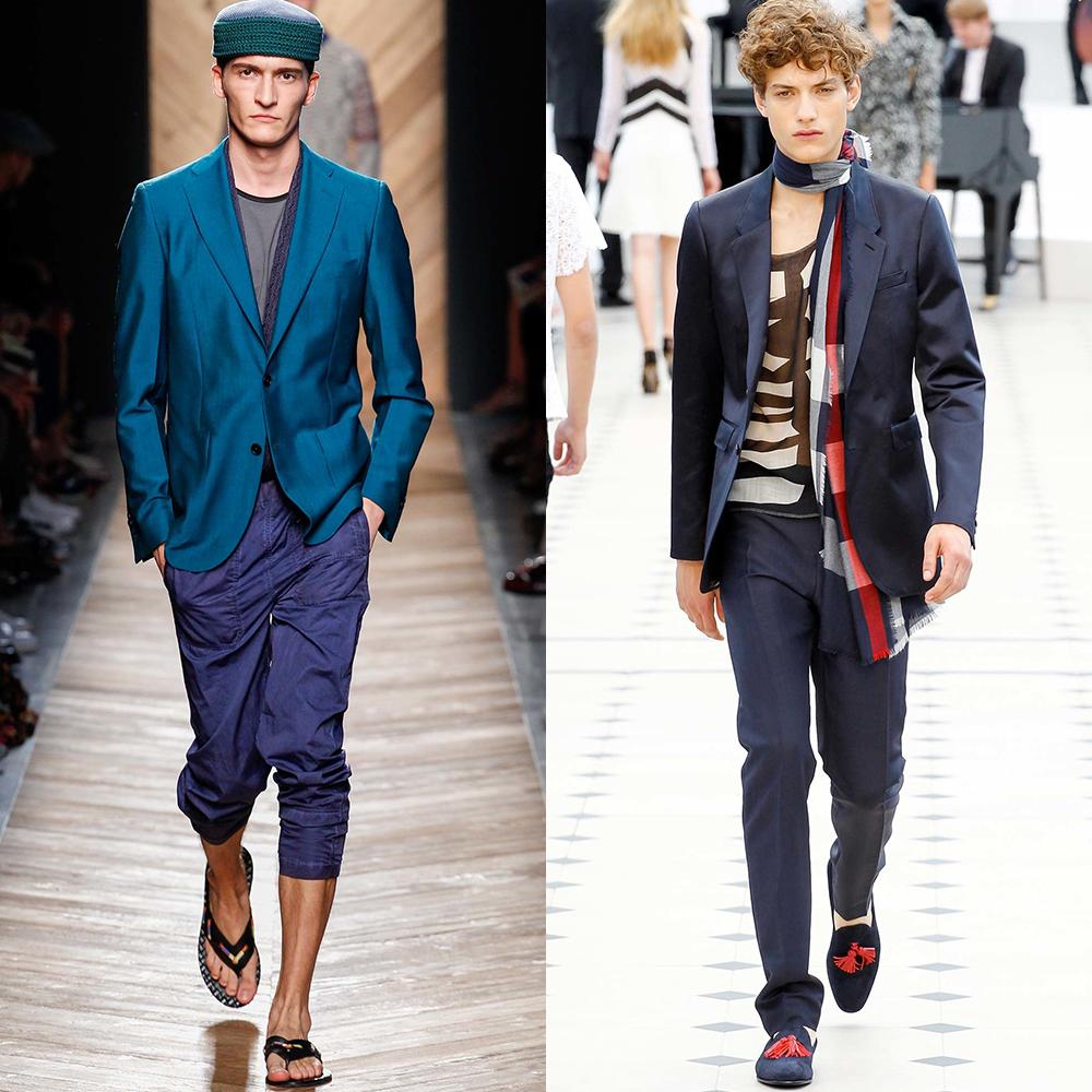 весна лето 2016 мужская мода