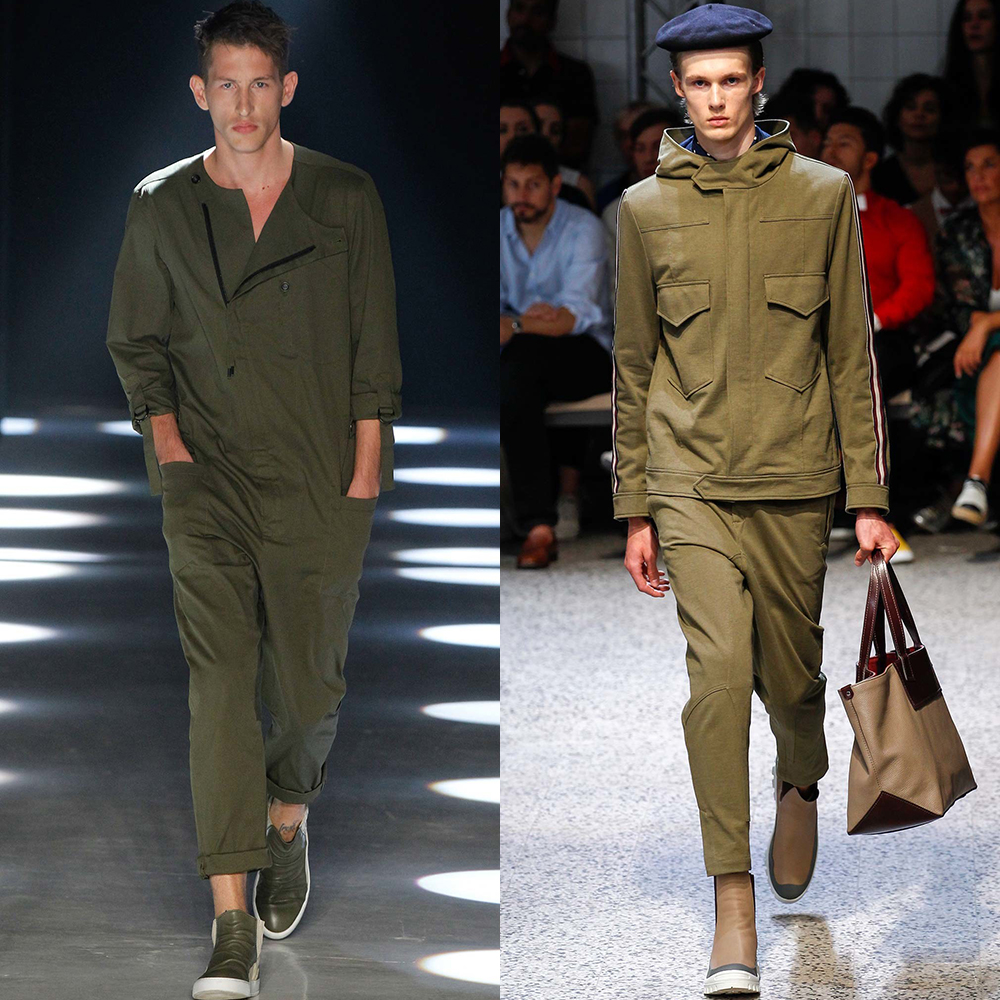 тренд цвета мужская мода