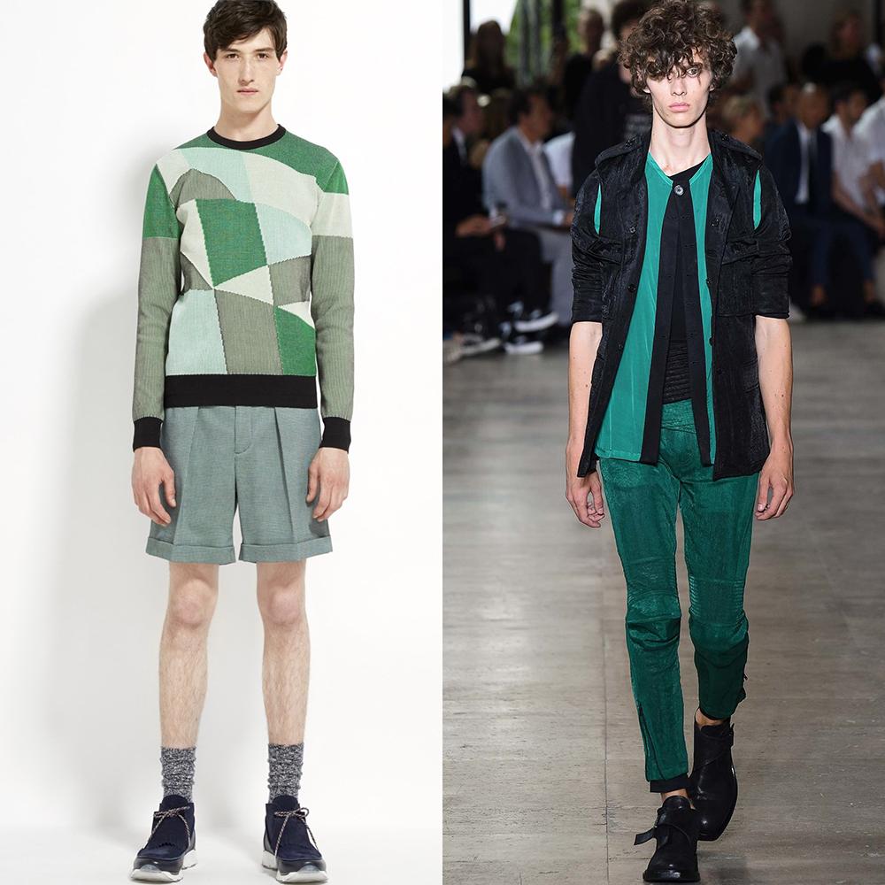 модные цвета мужской стиль