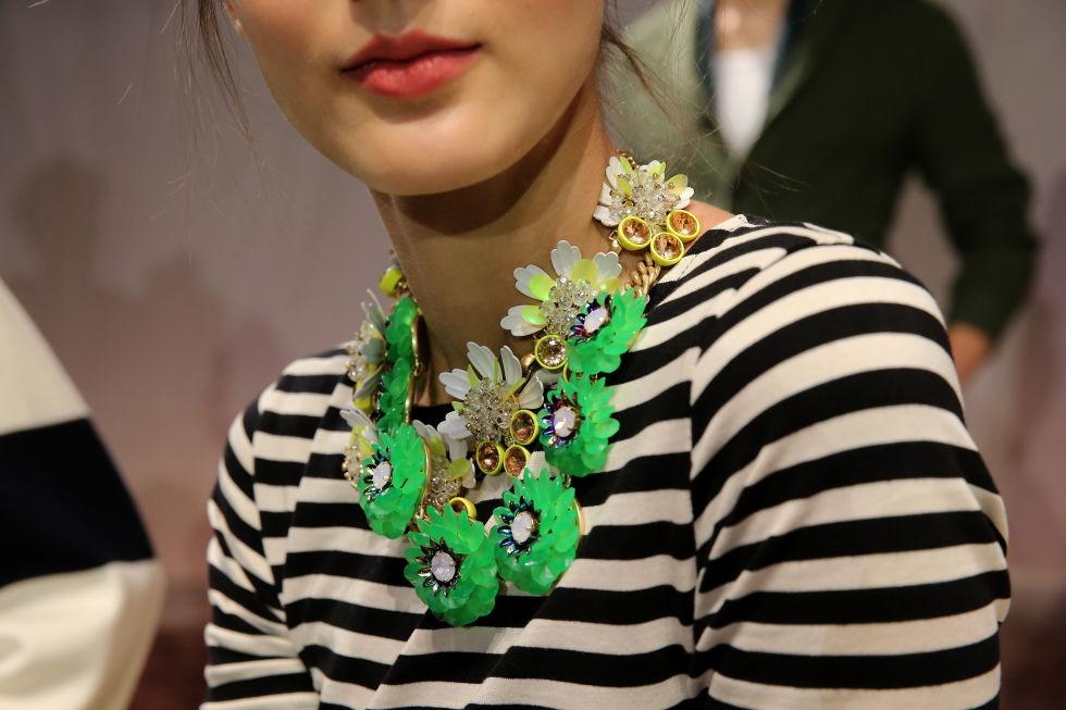 украшения с цветами мода