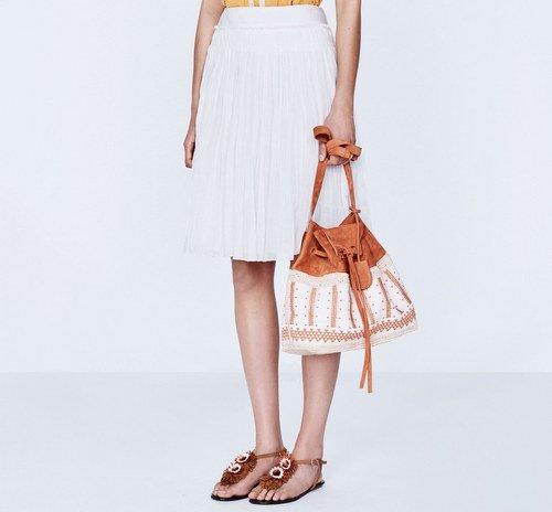 юбка плиссе в моде 2016