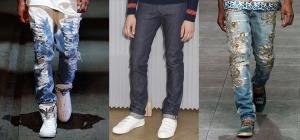 Модные мужские джинсы. Весна Лето 2016