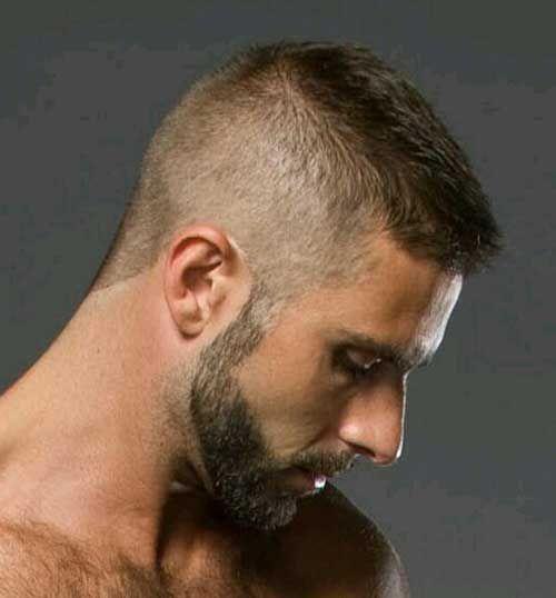 Мужская стрижка бобрик