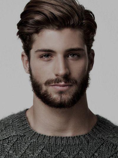 Каштановый цвет волос мужчины