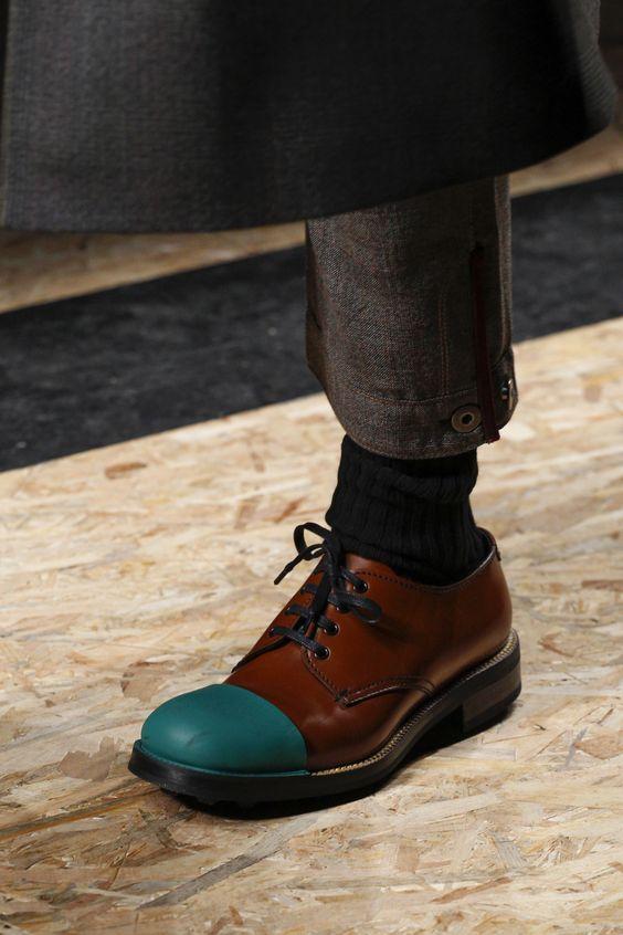 виды модной обуви