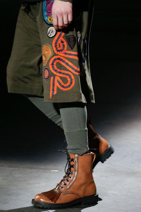 Модная мужская обувь