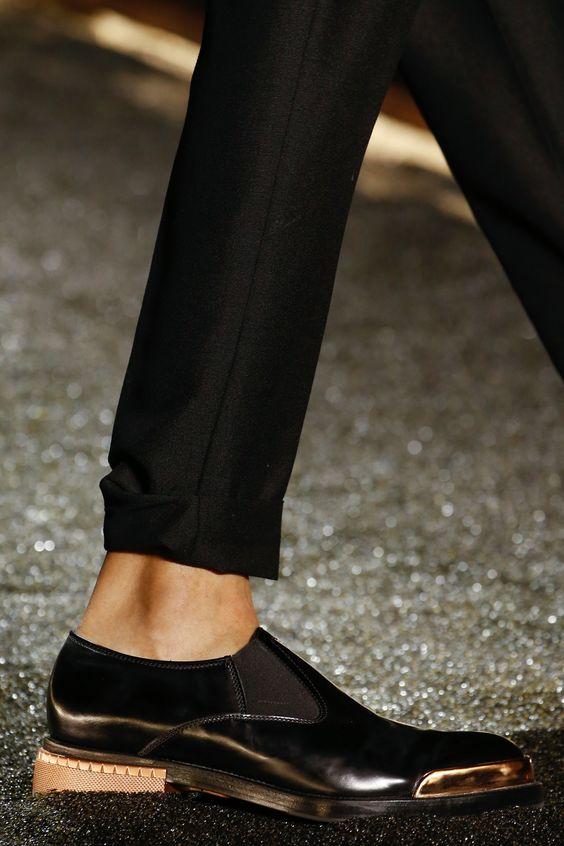 Модные мужские туфли осень зима