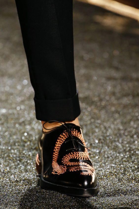 Какая мужская обувь в моде
