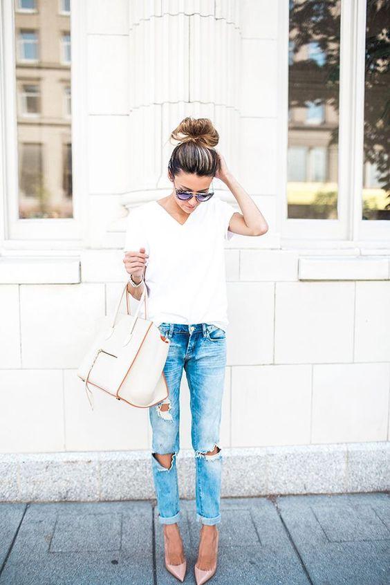 Кому подходят джинсы бойфренды?