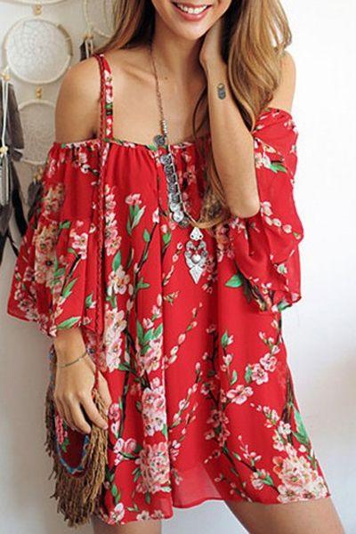 C какими аксессуарами носить шифоновые платья