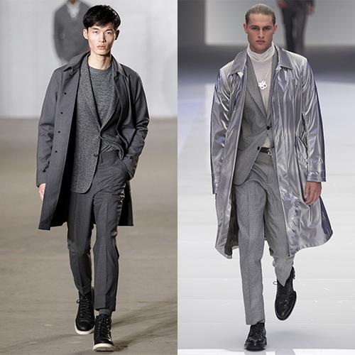 Модные цвета мужская мода осень зима