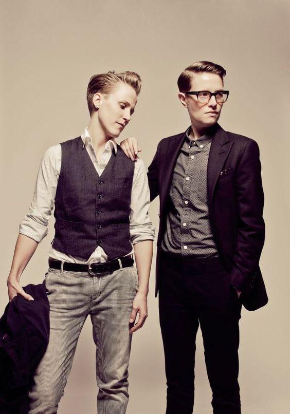 Стиль унисекс женская и мужская одежда