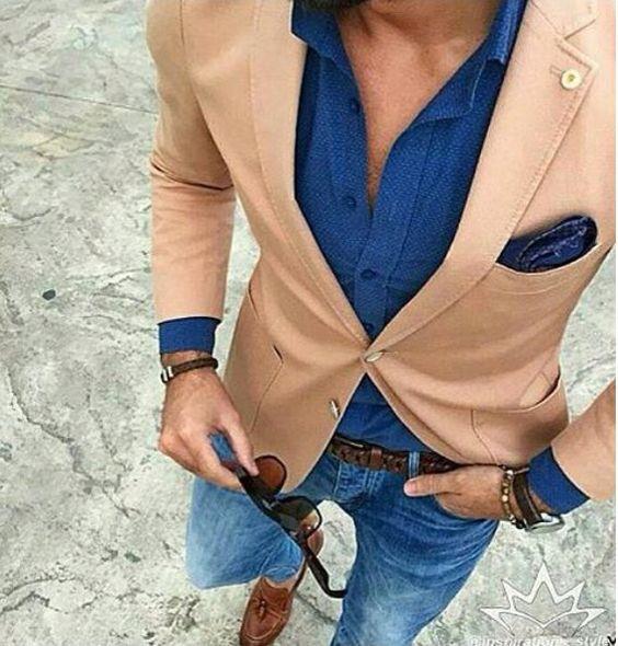 С чем носить блейзер мужчине