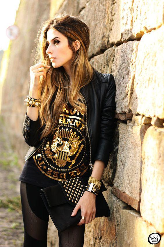 Глэм рок стиль в одежде фото