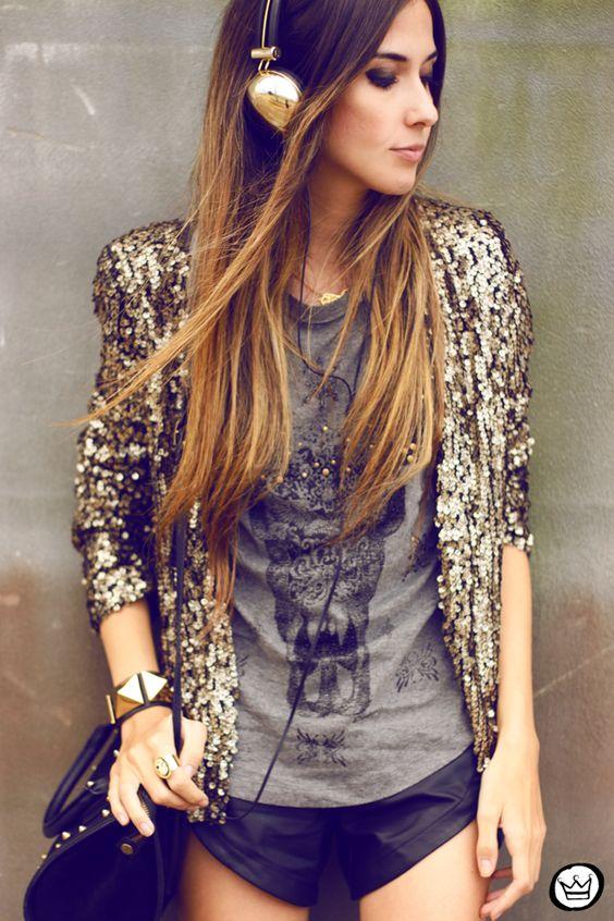 Глэм рок стиль в одежде