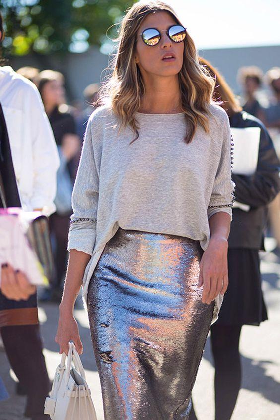 Гламурный стиль в женской одежде