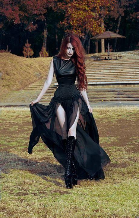 Готический стиль одежда фото