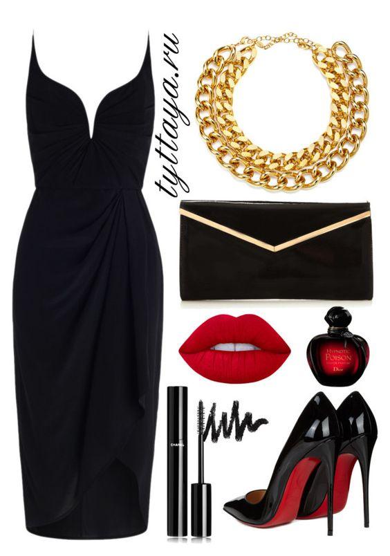 Стиль вамп в одежде платья фото